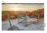 Mushroom Rock Phenomenon At Sunset Carry-all Pouch