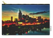 Nashville At Dusk Carry-all Pouch