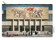 National Historical Museum Landmark And Mosaic Mural In Tirana A Carry-all Pouch