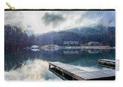 Nature Around Lake Lure Chimney Rock And Broad River North Carol Carry-all Pouch