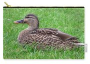 New Zealand - Female Mallard Duck Carry-all Pouch