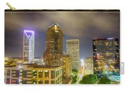 Night View Scenes Around Charlotte North Carolina Carry-all Pouch