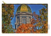 Notre Dame's Golden Dome Carry-all Pouch