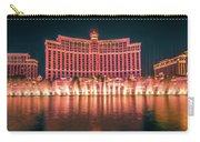 November 2017 Las Vegas Nevada - Scenes Around Bellagio Resort H Carry-all Pouch