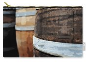 Oak Wine Barrel Carry-all Pouch