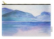 Ocean Watercolor Hand Painting Illustration. Carry-all Pouch
