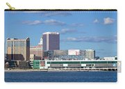 Panoramic View Of Atlantic City, New Jersey Carry-all Pouch