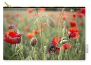 Papaver Rhoeas Carry-all Pouch