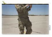 Pararescuemen Conducts A Communications Carry-all Pouch