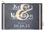 Personalized Wedding Invitation Carry-all Pouch