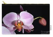 Pink Orchid V Carry-all Pouch