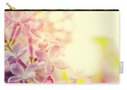 Purple Spring Lilac Flowers Blooming Close-up Carry-all Pouch