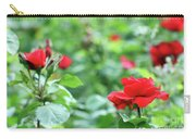 Red Roses Garden Spring Season Carry-all Pouch