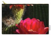 Red Torch Cactus  Carry-all Pouch