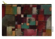 Redgreen And Violet-yellow Rhythms Carry-all Pouch