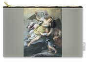 Rendition Of A Guardian Angel Carry-all Pouch