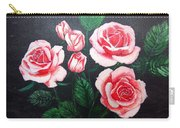 3 Roses Carry-all Pouch