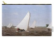 Sailboats Racing On The Delaware Carry-all Pouch