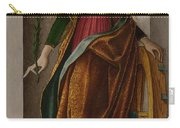 Saint Catherine Of Alexandria Carry-all Pouch