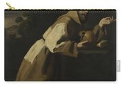 Saint Francis In Meditation Carry-all Pouch