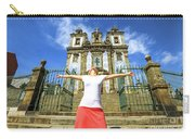Saint Ildefonso Church Enjoying Carry-all Pouch