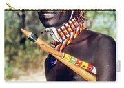 Samburu Warrior Carry-all Pouch