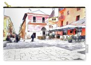 San Felice Circeo Square Carry-all Pouch