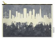 San Francisco California Skyline Carry-all Pouch