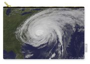 Satellite View Of Hurricane Irene Carry-all Pouch