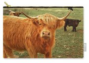 Scottish Highlander With Big Bangs Carry-all Pouch