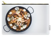 Seafood And Rice Paella Traditional Spanish Food Carry-all Pouch