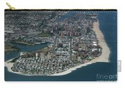 Seagate And Brighton Beach In Brooklyn Aerial Photo Carry-all Pouch