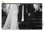 Silent Film Still: Wedding Carry-all Pouch