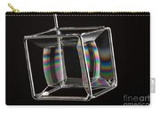 Soap Films On A Cube Carry-all Pouch