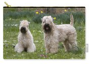 Soft-coated Wheaten Terriers Carry-all Pouch