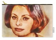 Sophia Loren, Vintage Hollywood Actress Carry-all Pouch