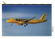 Spirit Airlines Airbus A320-232 Carry-all Pouch