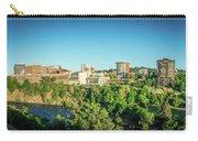 Spokane Washington City Skyline And Streets Carry-all Pouch