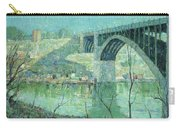 Spring Night Harlem River Carry-all Pouch