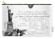 Statue Of Liberty, 1886 Carry-all Pouch