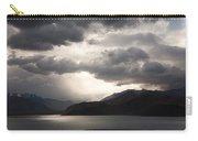Storm On Karakul Lake Carry-all Pouch by Konstantin Dikovsky