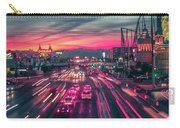 Street Scenes Around Las Vegas Nevada At Dusk Carry-all Pouch
