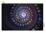 Spiral Stained Glass Carry-all Pouch