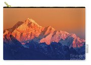 Sunrise On Mount Kanchenjugha At Dawn Sikkim Carry-all Pouch