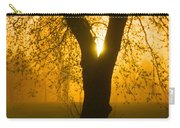 Sunrise Trees Fog Carry-all Pouch