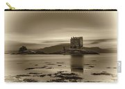 Sunset Over Castle Stalker,  Scotland, United Kingdom Carry-all Pouch