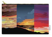 3 Sunsets Carry-all Pouch