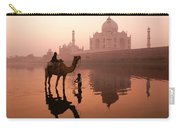 Taj Mahal At Dawn Carry-all Pouch