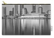 Tampa Bay Black And White Carry-all Pouch