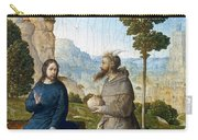 Temptation Of Christ Carry-all Pouch